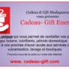 Cadeau Gift Madagascar Carburant