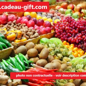 Fuits et légumes frais en livraison à domicile à Madagascar