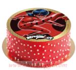 Gâteau Lady Miraculous