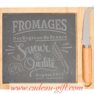 Planche à fromage avec couteau en livraison à domicile Madagascar