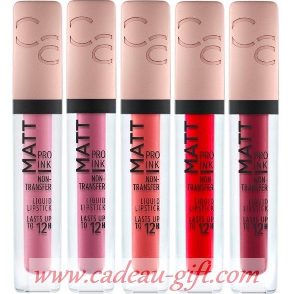 Rouge à lèvres Liquide Sans Transferts Matt Pro Ink CATRICE