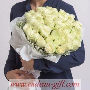Bouquet de roses en livraison à domicile Antananarivo