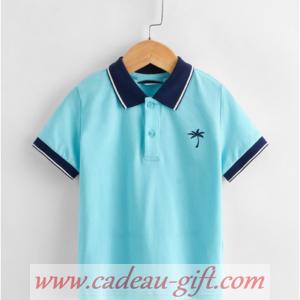Polo bleu pour garçon livraison à domicile